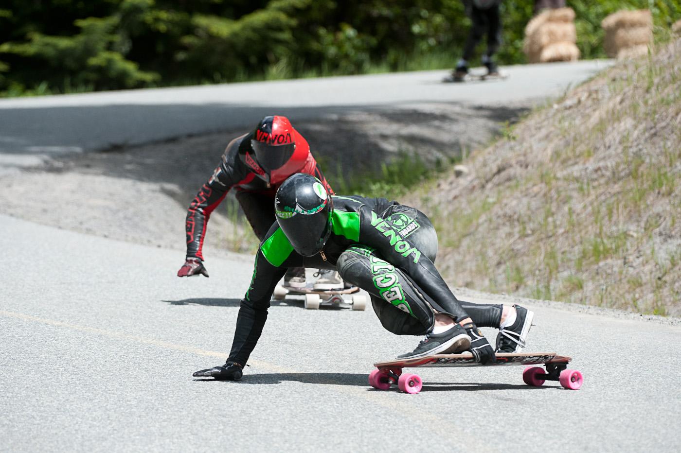 Downhill Electro Longboarding